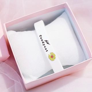 Vòng đeo tay Cadycat VTHC05 cao su họa tiết Hoa Cúc tuyệt đẹp 2