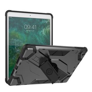 Đối với Apple iPad 9.7 2018 2017, ốp lưng cầm tay Full Body Armor Chống rơi chân chống sốc cho iPad A1893 1822