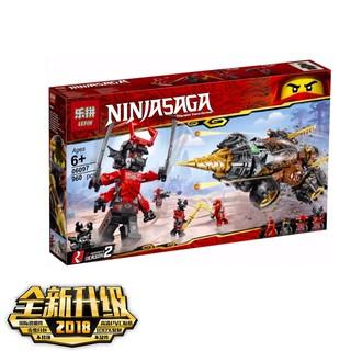 (KHUYẾN MẠI) Lego Ninja + Máy Khoan Của Coles Cực Chất Lepin 06097 (Lego 70669)