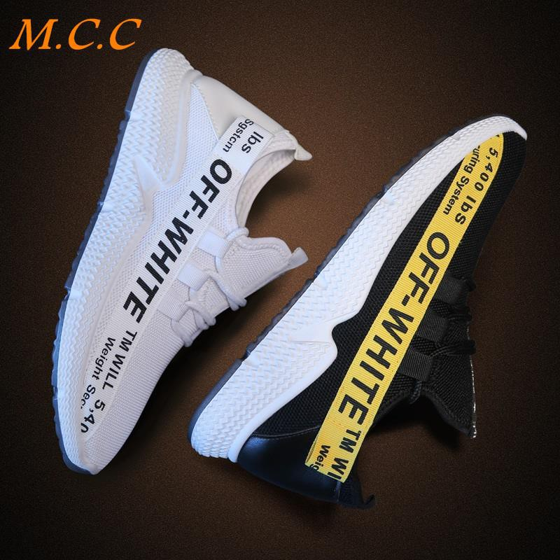 Spring new men's running shoes sports shoes Korean version of the trend of casual men's tide men's wild shoes 2019