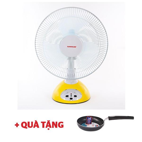Quạt tích điện Sunhouse SH712 - Tặng chảo phi 12cm - 10037554 , 388772285 , 322_388772285 , 900000 , Quat-tich-dien-Sunhouse-SH712-Tang-chao-phi-12cm-322_388772285 , shopee.vn , Quạt tích điện Sunhouse SH712 - Tặng chảo phi 12cm