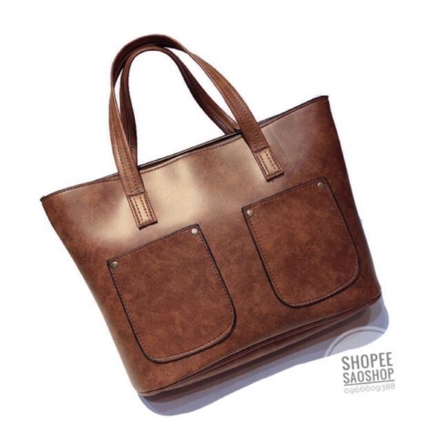 Túi xách nữ/ túi da to đựng a4/ túi công sở/ túi đeo vai/ túi kẹp nách/túi đựng laptop