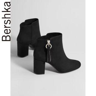 Boots da lộn cao gót Bershka thumbnail