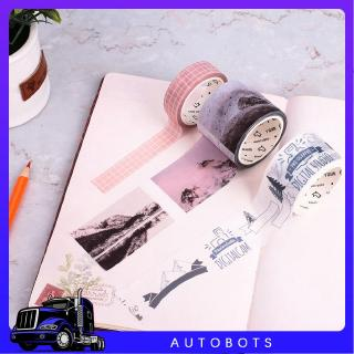 ❤Julian Home Washi Tape Paper Planner DIY Material Decoration Sticker Simple