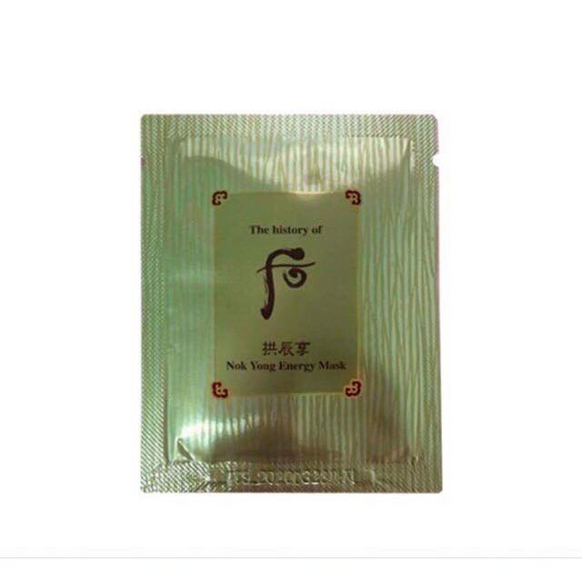 Combo 30 gói Mặt nạ nóng chứa mật ong và lộc nhung Whoo Nok Yong Pack