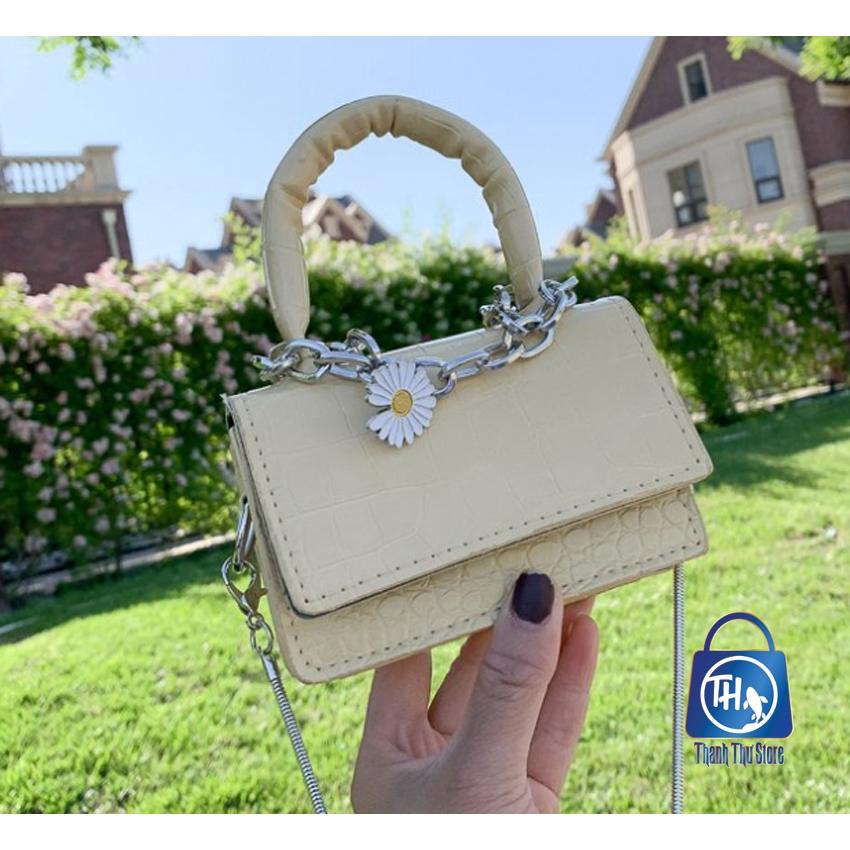 Túi đeo chéo, túi mini hoa cúc HOTTREND BH 439