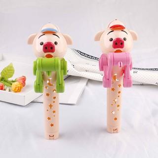 SUN11❤❤Lollipop holder decompression toys lollipop robot dustproof toy