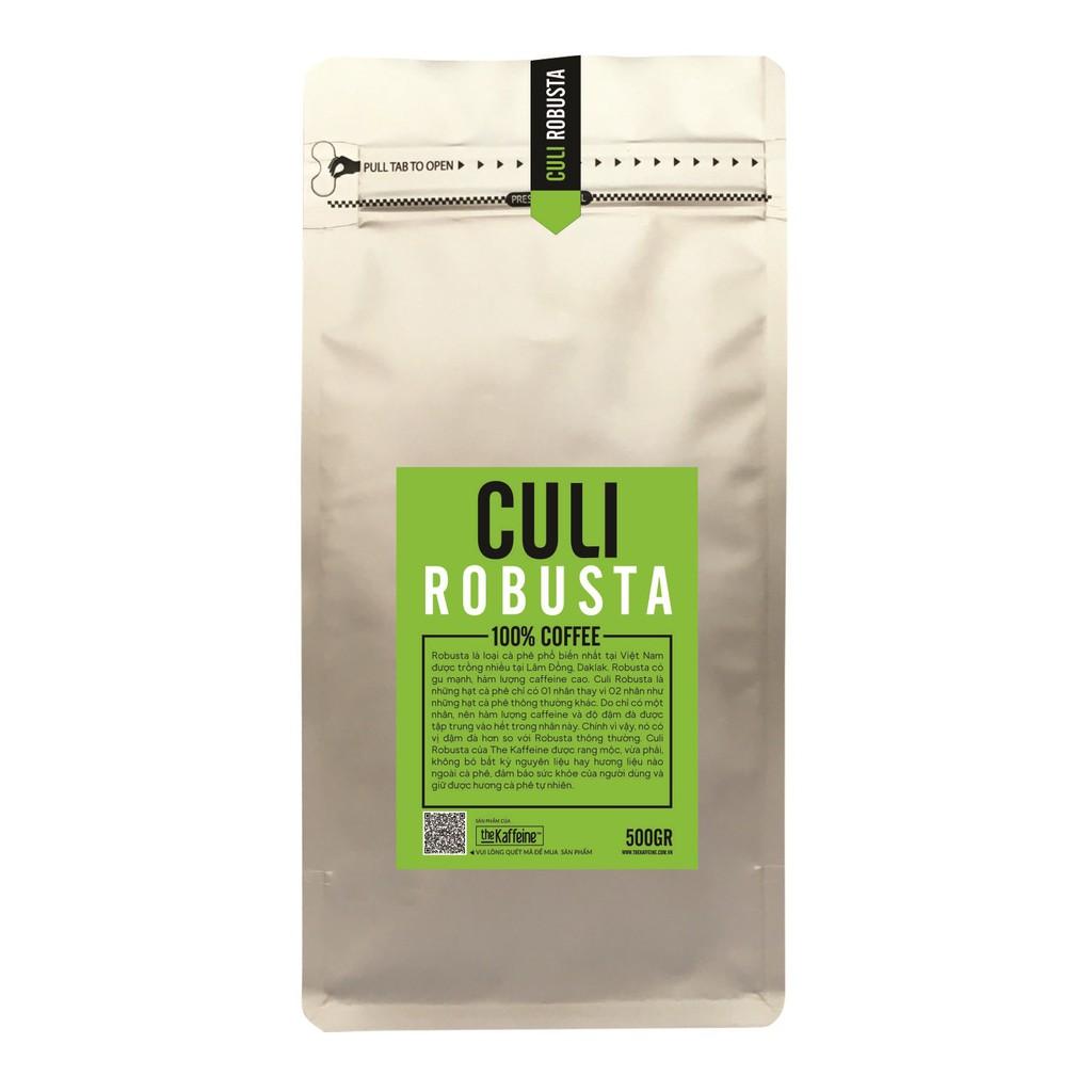 Cà phê Culi Robusta 500g - The Kaffeine Coffee