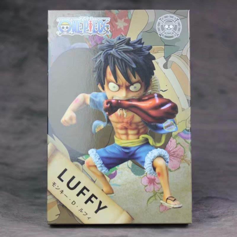Mô hình Onepiece Monkey D Luffy Figure Gear 4 Full Box Bộ Sưu Tập Trang Trí Bàn Học Bàn Làm...
