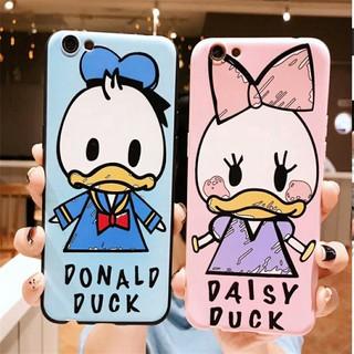 TAIKorea Cartoon Donald Duck Casing Soft Silicone Phone Case Back Cover for OPPO A37 A83 A1 A5 F1S A59