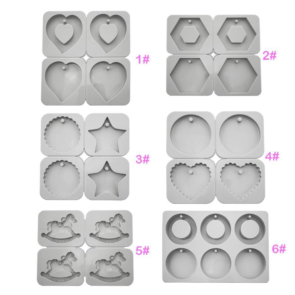 Khuôn silicone với nhiều khung hình kiểu dáng khác nhau đặc sắc