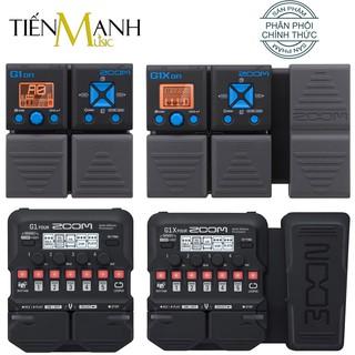 Zoom G1on, G1Xon, G1 Four, G1X Four - Phơ Đàn Guitar Bàn đạp Fuzz Pedals Effects Ghi-ta Điện Electric đã cài bộ tiếng thumbnail