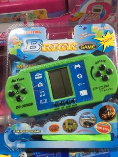 Giao màu ngẫu nhiên Brick Games ZC-3050B-2 Máy chơi điện tử, trò chơi điện tử xếp gạch