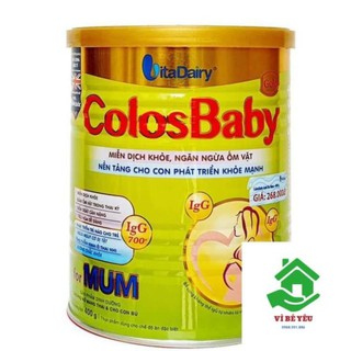 Sữa bột ColosBaby Gold Mum 400G Date T6 2022