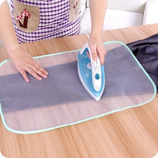 Small Ironing Board Household Heat Insulation Ironing Cloth Mini Iron Board Ironing Board Desktop Ironing Clothes Heat Insulation Ironing