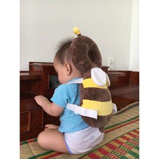 Gối đỡ bảo vệ đầu và lưng cho trẻ sơ sinh