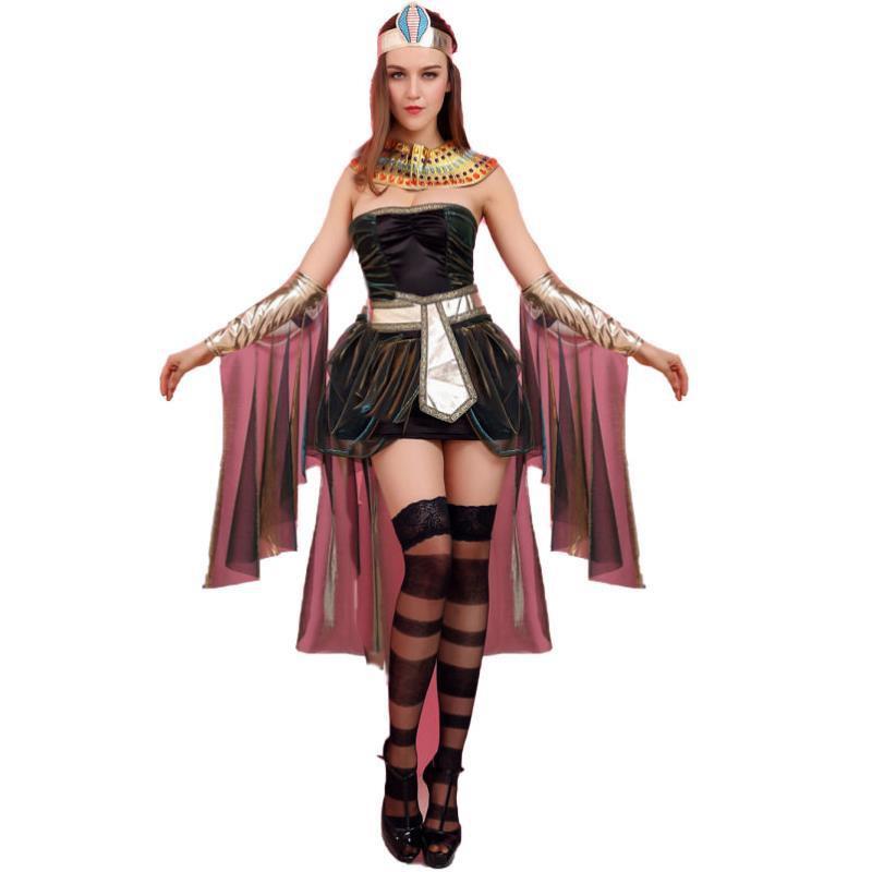 Bộ Đồ Hóa Trang Nữ Hoàng Ai Cập Dịp Halloween