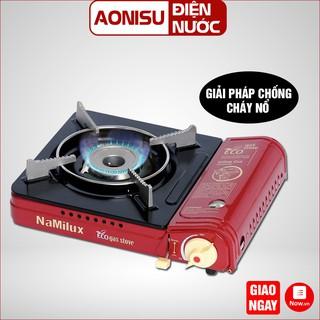 (PL1911PF) Bếp Gas Mini NAMILUX - Tự Động Ngắt Gas Khi Bị Gò Rỉ, An Toàn Khi Sử Dụng, Đạt Tiêu Chuẩn Nhật Bản. AONISU