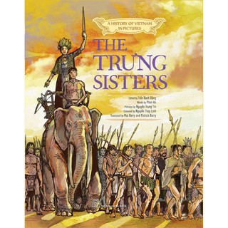 Sách-A history of VN in pictures. The Trung sisters (In colour) thumbnail