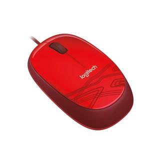 Chuột dây Logitech Optical USB M105 (đỏ)
