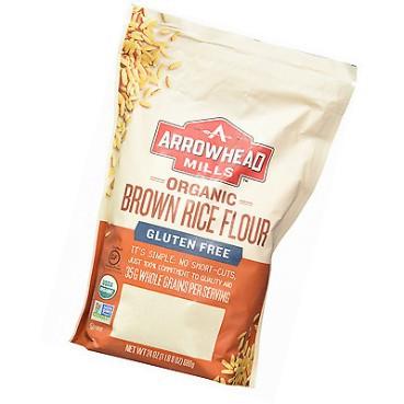 [Organic] Bột gạo nâu hữu cơ Arrowhead Mills 680g