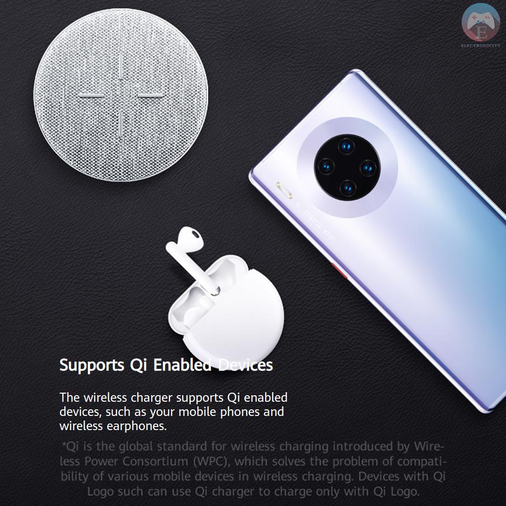 Đế Sạc Nhanh Không Dây Cp61 Qi-Certified 27w Max Cho Iphone / Airpods / Galaxy / Huawei