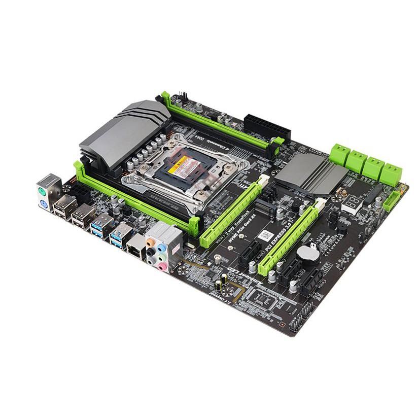 Bo mạch chủ X99 turbo hỗ trợ 2011 E5 V3 V4 CPU RAM DDR4 Giá chỉ 1.800.000₫