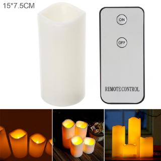 15 x 7.5CM LED Home Candle Light with Remote
