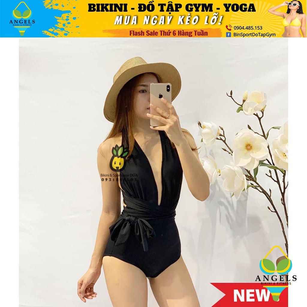Bikini,Bộ Đồ Bơi Một Mảnh Xẻ Ngực Sexy 2 Màu BHV002 [ Giá Sỉ ]