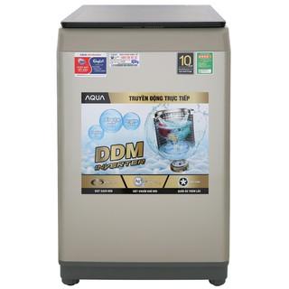 MIỄN PHÍ CÔNG LẮP ĐẶT - DW90CT Máy giặt Aqua Inverter 9 Kg AQW-DW90CT