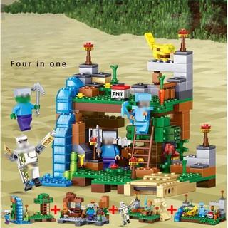 Bộ đồ chơi lắp ghép Minecraft