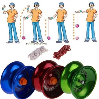 Polished Aluminum Alloy YoYo Balls Metel Professional Yo-yo Children Adult Toys