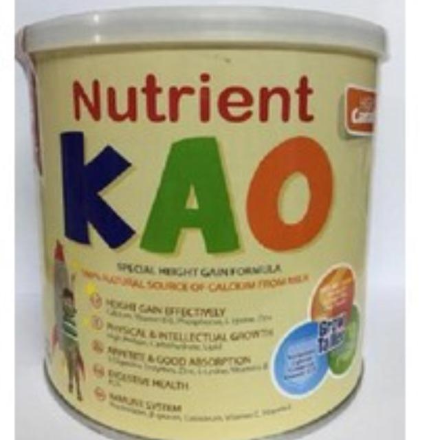 Sữa Nutrient Kao dành cho trẻ dưới 6 tuổi