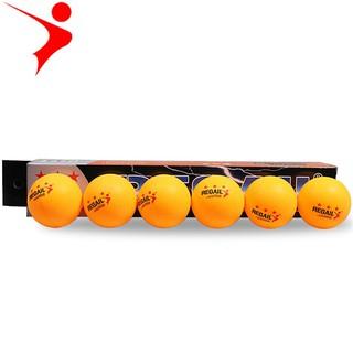 Quả bóng bàn 3 sao tiêu chuẩn thi đấu hộp 6 quả REGAIL TC-5673 thumbnail