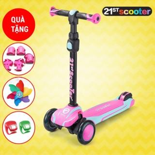 Xe scooter 3 bánh cho bé 21st Scooter ROD3 2019