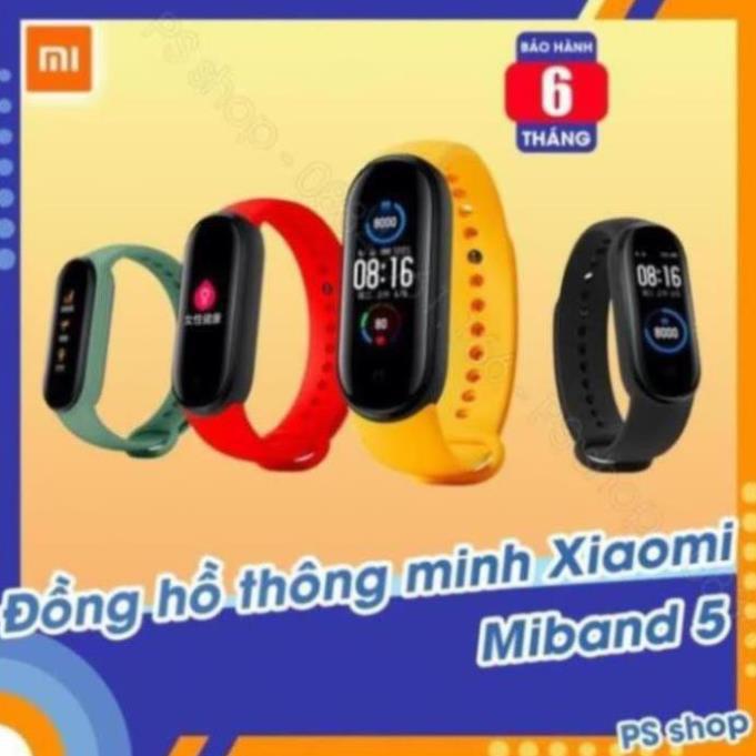 Vòng tay thông minh Xiaomi Mi Band 5 / Đồng hồ thông minh Miband 5 -  [ Bảo hành 6 tháng ] [SW1205]