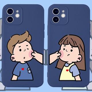 Ốp lưng iphone cạnh vuông BVC Cặp đôi 6 6s 6plus,7 8plus,X Xs Xr Xs max 11 11Pro 11Promax 12mini 12 12pro 12promax thumbnail
