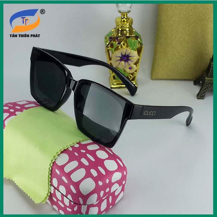 Mắt kính mát nữ - Bảo hành 12 tháng - Đủ bộ hộp đựng kính như hình