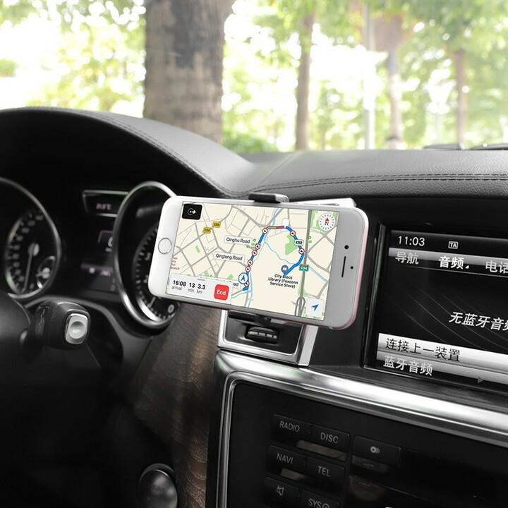 Giá đỡ điện thoại trên oto hoco ca38 - kẹp điện thoại trên xe hơi hoco ca38 - vienthonghn