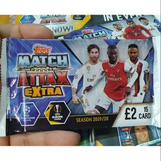Pack 15 thẻ – Match Attax Extra Champions League 2020