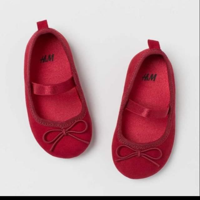 Giày Búp Bê hàng HM auth , giày chất siêu mềm nhẹ bé đi lên chân xinh phải biết đó các mẹ ah , các mẹ sắm cho bé nha ...