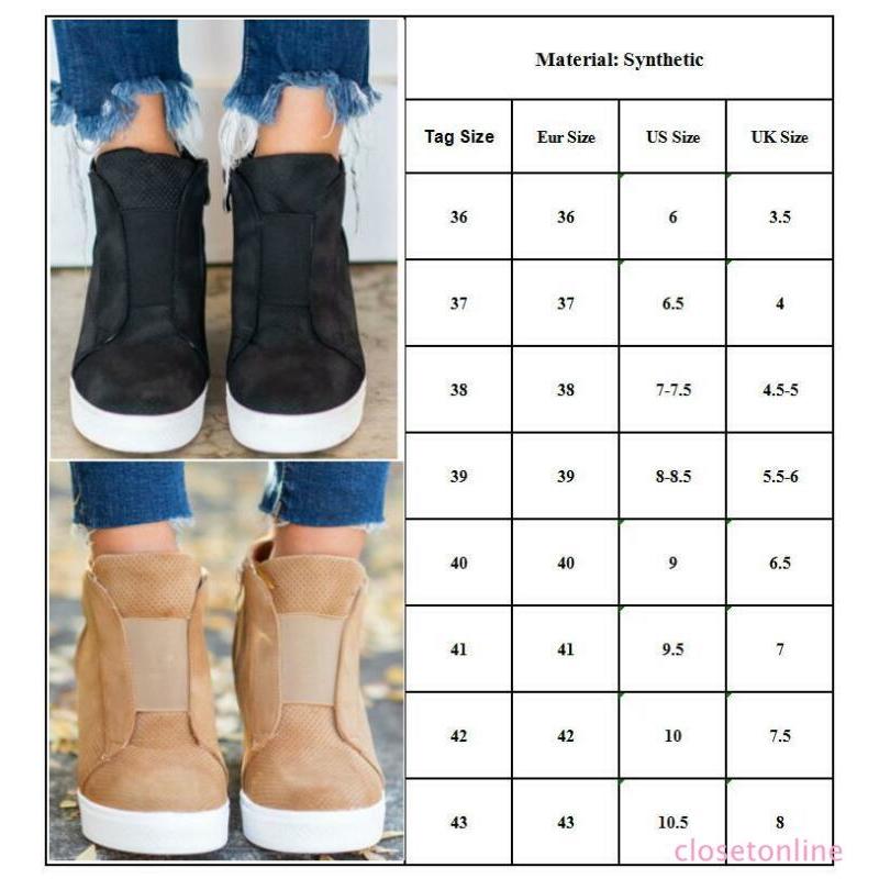 Giày thể thao nâng chiều cao nâng chiều cao dành cho nữ