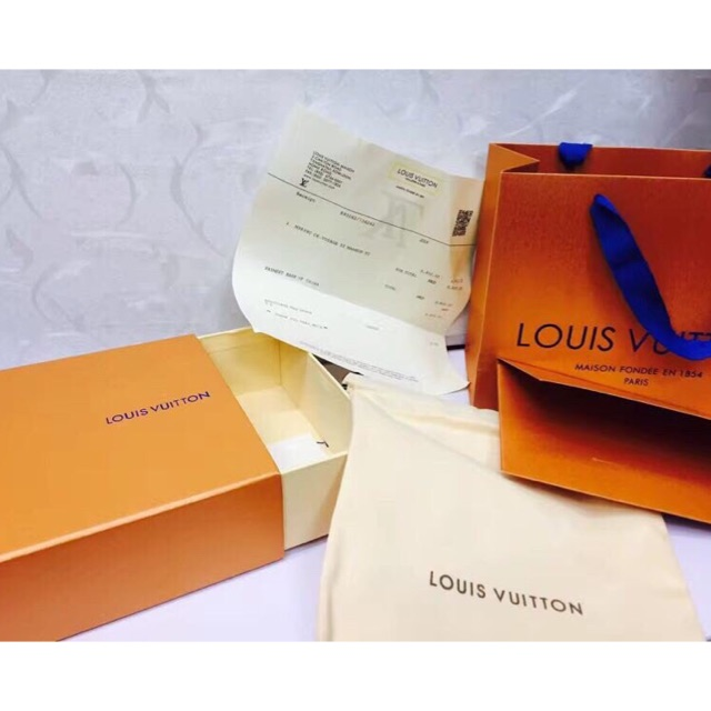 [LẺ] Hộp dây lưng full box bill card giấy gói túi xách