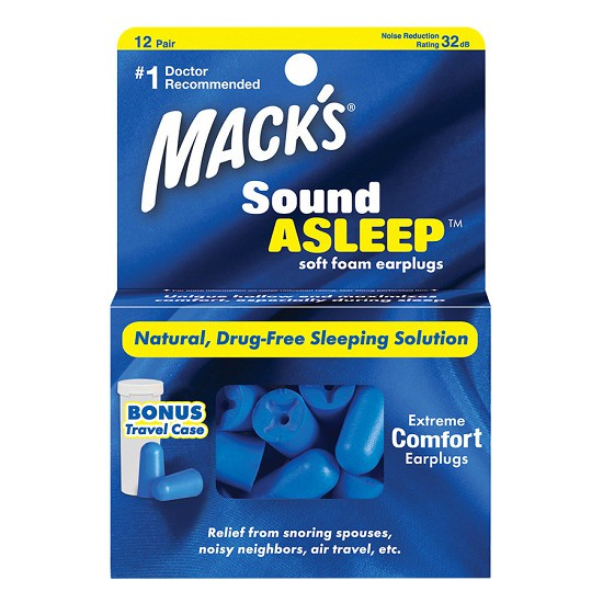 Hộp 12 đôi nút bị tai Chống Ồn, Ngủ Ngon Sound Asleep #2140- Nhập khẩu từ Mỹ