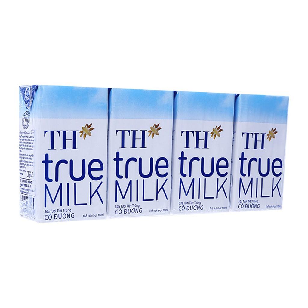 Combo 3 vỉ sữa TH 110ml
