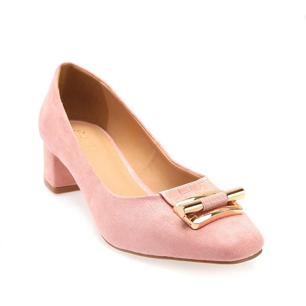 Giày cao gót bít mũi da lộn Girlie S34744 ( xanh dương, đen, hồng) - 15281393 , 1394999575 , 322_1394999575 , 497000 , Giay-cao-got-bit-mui-da-lon-Girlie-S34744-xanh-duong-den-hong-322_1394999575 , shopee.vn , Giày cao gót bít mũi da lộn Girlie S34744 ( xanh dương, đen, hồng)
