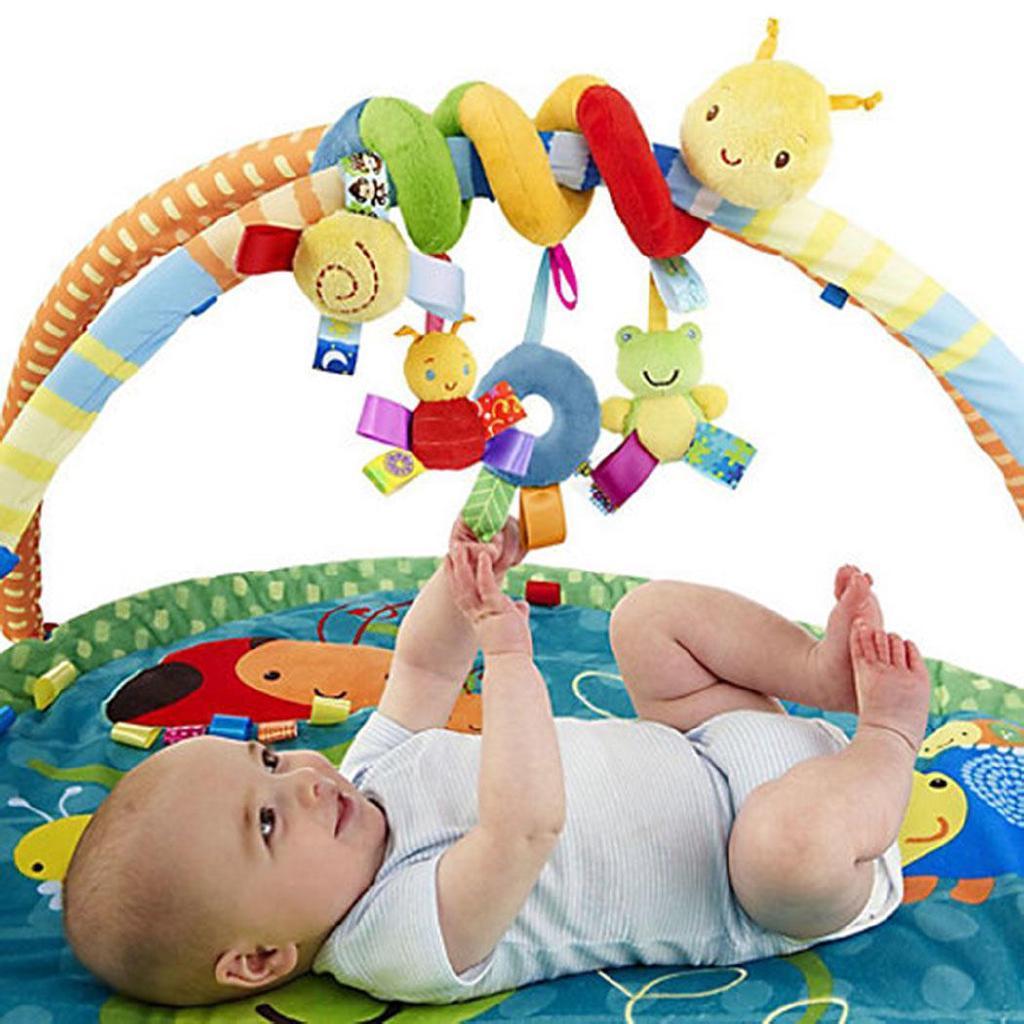 Ch New Kids Trẻ sơ sinh Bé gái Bé trai Hình hoạt hình quấn quanh giường Đồ chơi búp