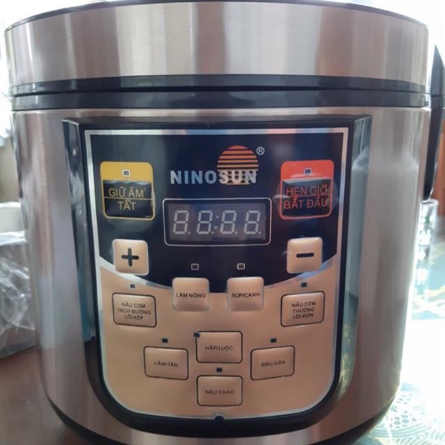 Nồi cơm tách đường NiNoSun 1,8lit