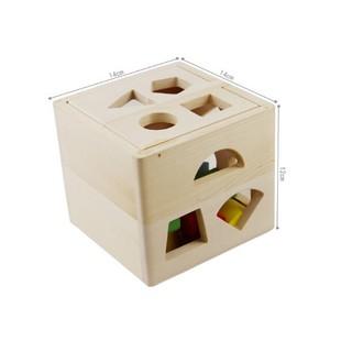 [ HOT DEAL ] Đồ chơi Hộp thả khối đa năng – Đồ chơi giáo dục gỗ an toàn