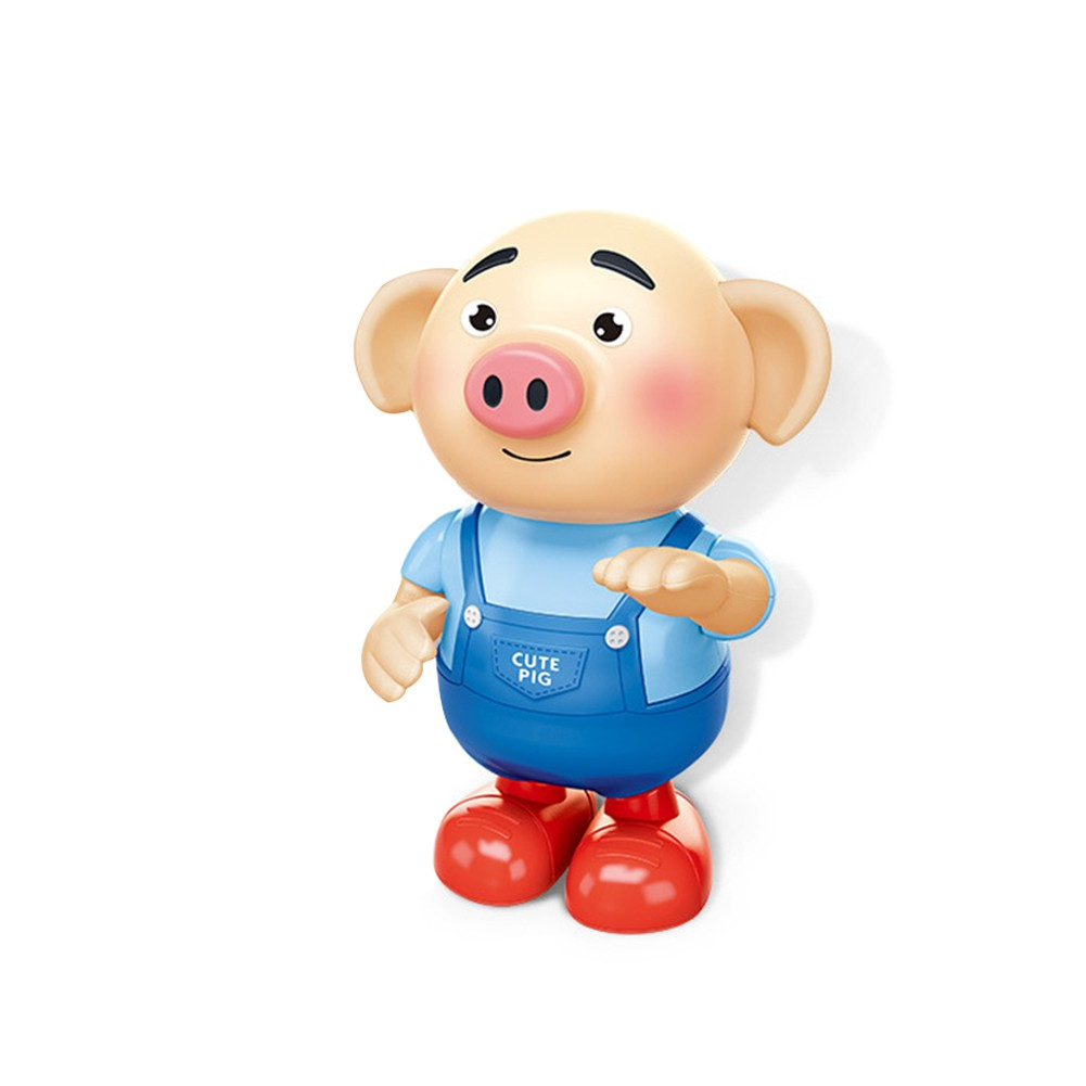 Dancing Piglet Singing Walking with Light Sprouting Pig Electronic Vocal Baby Toys